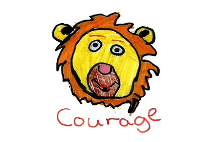 Value of the Month : Courage